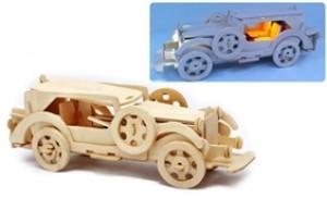 Phát triển khả năng nhận biết của bé với ô tô lắp ráp gỗ có đèn - 1 - Khác