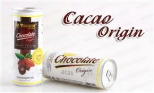 02 block cacao lon Vinacacao, 12 lon x 200ml, ngọt ngào, thơm nồng