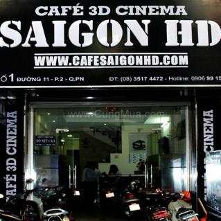Xem phim và thưởng thức trái cây, nước ngọt tại Cafe Saigon HD