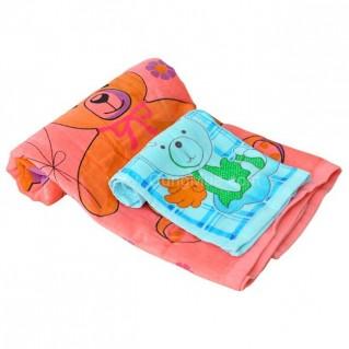 Túi quà tặng khăn tắm (50x100cm) & khăn mặt Thịnh Vinh (34x34cm)