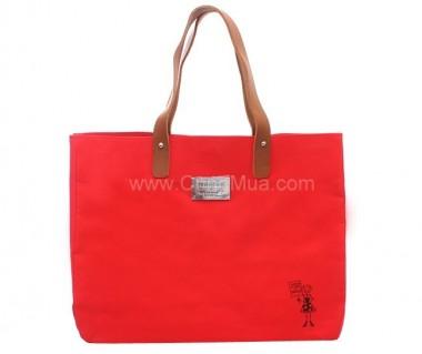 Túi xách vải dù thời trang kiểu dáng Hilary Duff