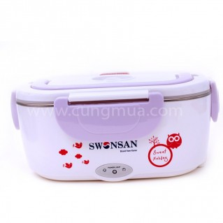 Hộp cơm hâm nóng inox chính hãng Swonsan