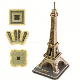 Tranh ghép hình tháp Eiffel 3D