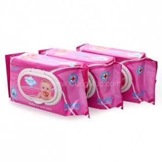 Khăn ướt Nano Baby (3 gói) - 80 khăn/ gói