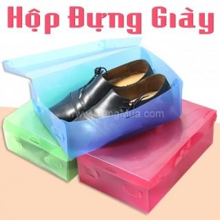 Hộp đựng giày trong suốt (3 hộp)