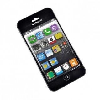 Bộ 18 miếng nam châm icon iphone gắn tủ lạnh, bề mặt tủ sắt