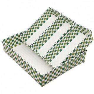 Rổ đan lát 3 ngăn tiện dụng