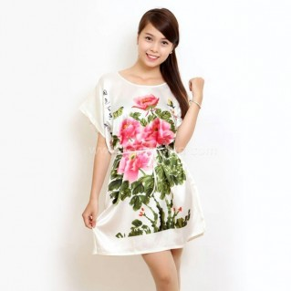 Đầm ngủ họa tiết kiểu Nhật thời trang
