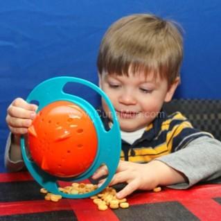Bát thông minh Gyro Bowl - giúp bé chống đánh đổ thức ăn ra ngoài
