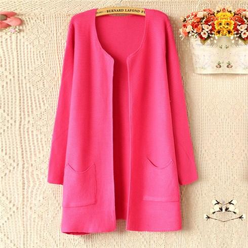Áo khoác len dáng dài thời trang