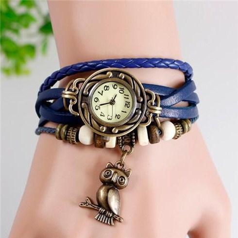 Đồng hồ nữ phong cách Vintage mẫu mới