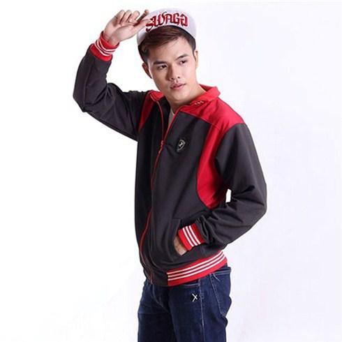 Áo khoác nam thể thao phối màu phong cách Hàn Quốc