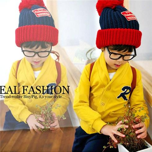 Áo khoác cho bé kiểu cardigan Hàn Quốc từ 2 - 7 tuổi