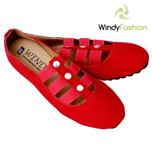 Giày vải jean Windy phối scandal