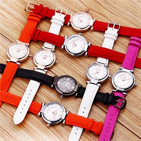 Đồng hồ nữ dây da Sinobi