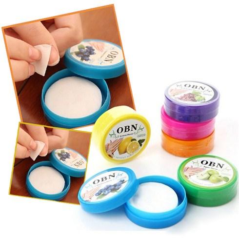 Miếng tẩy sơn móng tay Nail OBN Natural (96 miếng)