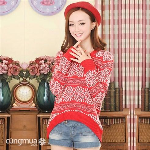 Áo len thời trang kiểu dáng Hàn Quốc