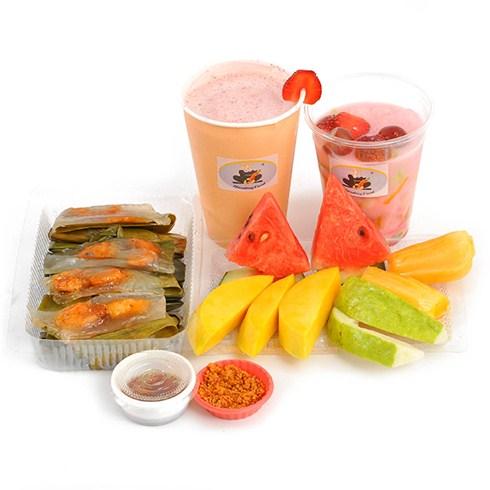 Sinh tố, trái cây, thức ăn nhẹ tại Handingfood (giao miễn phí)