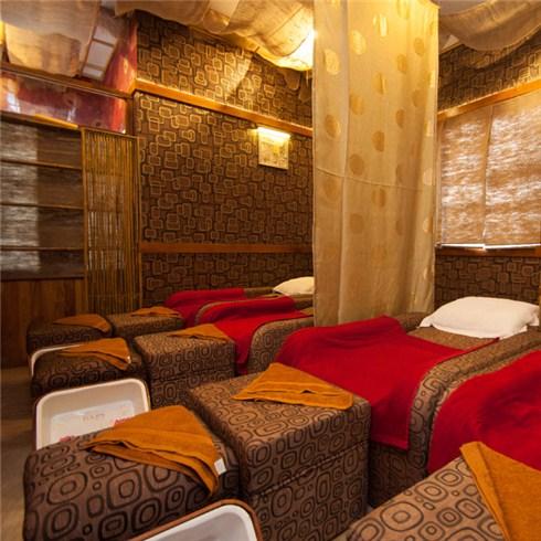 Massage body tinh dầu và thanh lọc da mặt tại Mộc Nguyên Spa