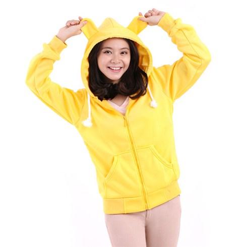 Áo khoác nữ tai gấu Sociu phong cách 2014