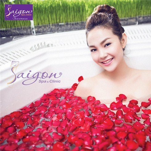Cùng Minh Hằng giảm đau nhức và stress - Saigon Spa & Clinic