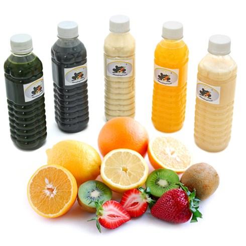 5 chai nước ép bưởi, cam tự chọn giao hàng tận nơi - Handing Food