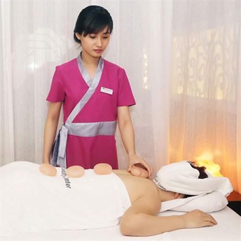 Massage đá muối Hymalaya + đắp măt nạ yến mạch - CH Beauty Center