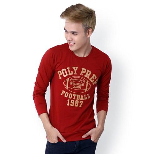 Áo thun nam tay dài Poly Prep