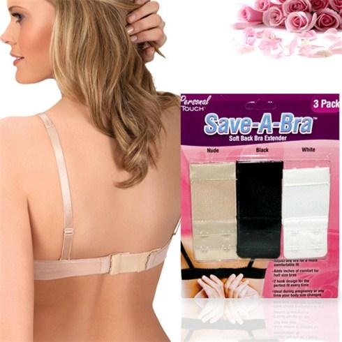 Bộ 3 miếng nối dây áo ngực Save A Bra cao cấp có thun co giãn