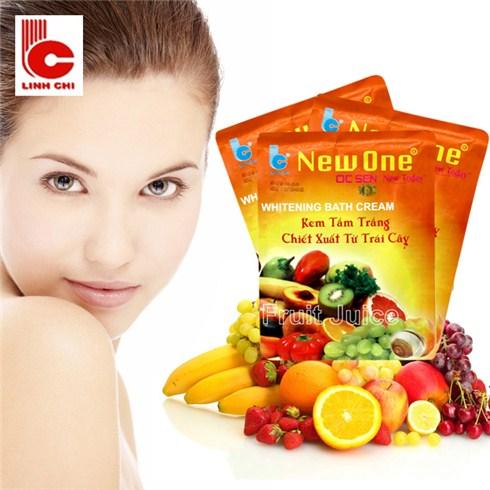 Combo 3 bịch kem tắm trắng trái cây Linh Chi - Ốc Sên New Today