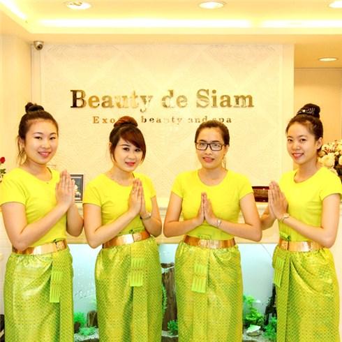 Massage đầu vai cổ, trắng sáng, xóa nhăn vùng cổ - Beauty De Siam