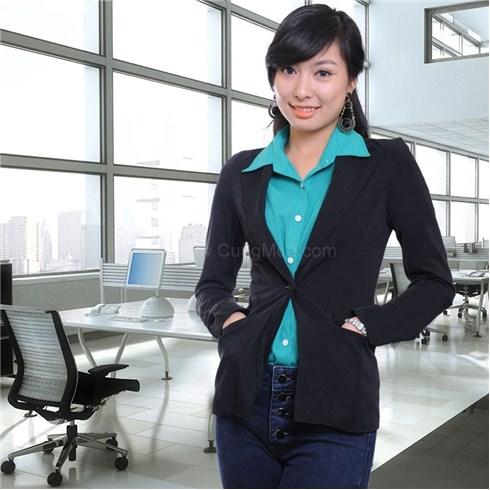 Áo vest nữ công sở