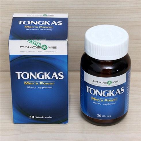 Thực phẩm tăng cường sinh lý nam giới Tongkas (30 viên/hộp)