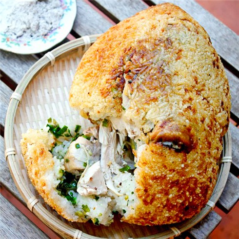 Gà bó xôi/gà trúc xanh đại bổ/gà nấu nấm 1.2 -1.5kg Cua Việt Quán