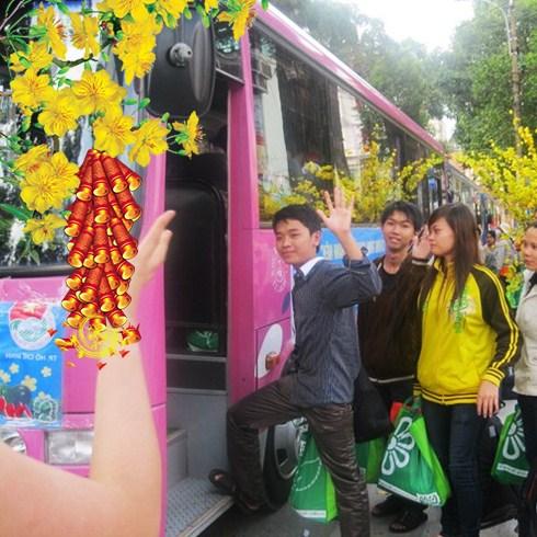 Vé xe giá rẻ chất lượng cao Tết Ất Mùi tuyến Sài Gòn - Huế