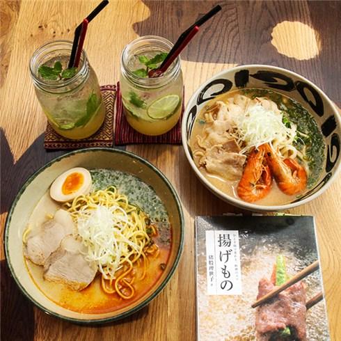 Combo mì Ramen + mì Udon Tomyum chua cay dành cho hai người