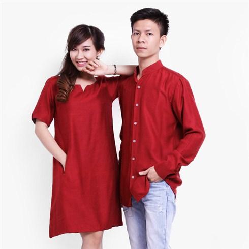 Set đầm suông nữ và áo sơ mi nam thương hiệu CIRINO