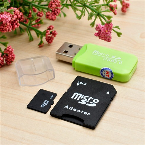 Combo thẻ nhớ MicroSD 8GB/16GB + Adapter