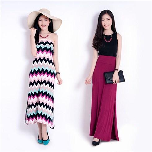 Đầm váy 2 trong 1 thời trang Việt Nam xuất khẩu