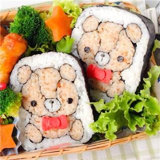 Cùng Mua - Lop hoc lam Sushi - Maki - Bento tai Rainbow Snow Kitchen Place