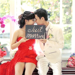 Cùng Mua - Chup anh album cuoi tron goi tai Monet Studio