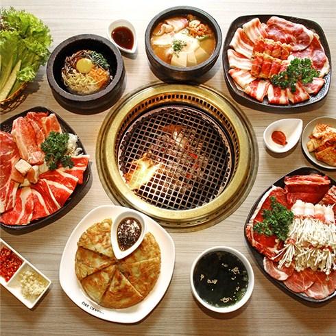 Set nướng tại bàn dành cho 2 - 4 người Nhà hàng Nhật Tasaki BBQ