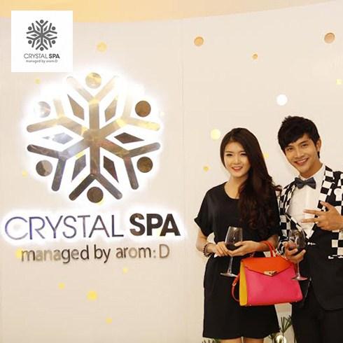 Massage body bằng đá ngũ sắc Thái Lan 90' - Crystal Spa 5*