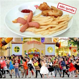 Cùng Mua - Ve vui choi thoa thich kem suat an hap dan tai Kinder Park Ho Tay