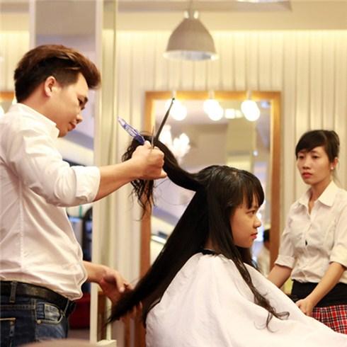 Phục hồi tóc bằng L'oreal + cắt + gội + sấy - Salon La Beaute
