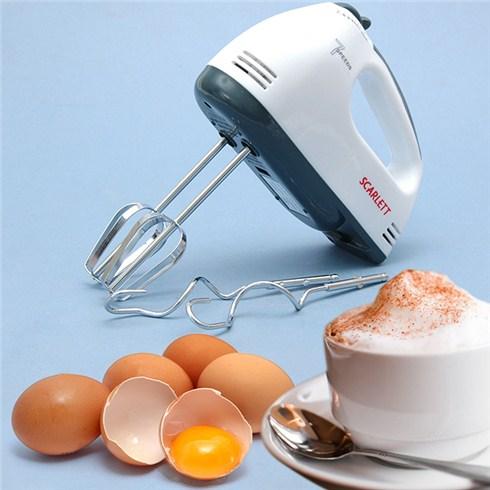 Máy đánh trứng đa năng cầm tay Scarlett 7 tốc độ - BH 3 tháng