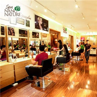Cùng Mua - Uon/duoi/nhuom tron goi tai Hair Salon Nano Nature dang cap 5