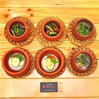Cùng Mua - Com trua + canh + tra cung dinh cho 1 nguoi - To & Met