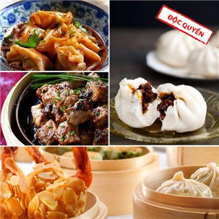 Cùng Mua - Buffet Dim sum goi mon, 1 nuoc tu chon Nha hang Silk99 Saigon