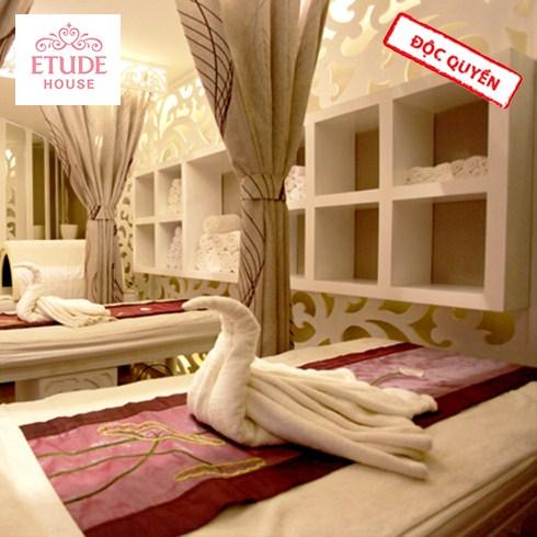 Massage body + chăm sóc da mặt/tẩy tế bào 90' - Beauty House